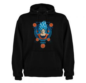 HOODIE DRAGON BALL CLOTHES AND GAMES BARCELONA