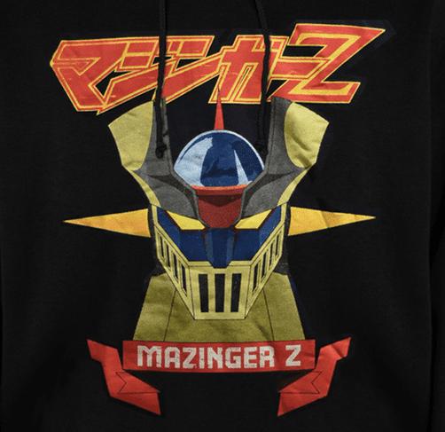 MAZINGER Z - HODDIE- CLOTHES AND GAMES- TERRASSA