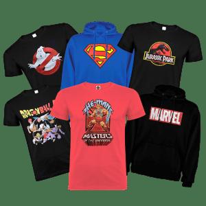 Camisetas y Sudaderas de Licencia