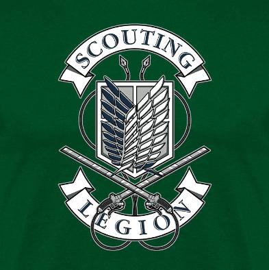 Scouting Legion (Por Olipop)- clothes and games. terrassa