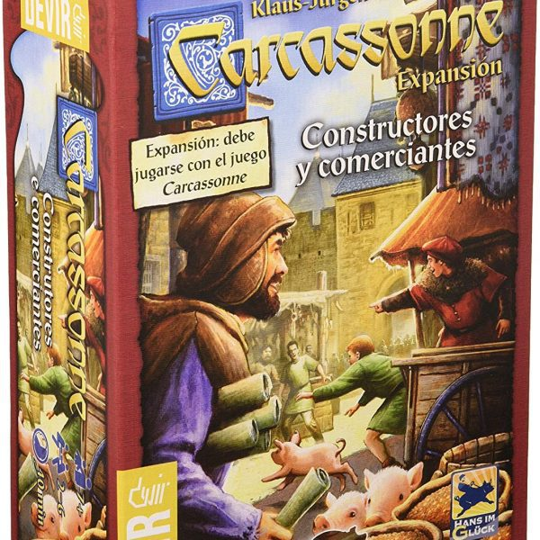 CARCASSONE CONSTRUCTORES-CLOTHES AND GAMES-TIENDA DE JUEGOS TERRASSA-BARCELONA