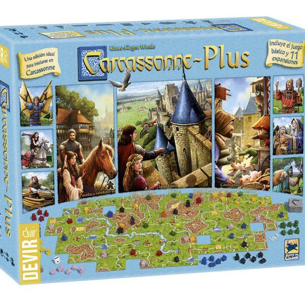 carcassonne plus, juego de mesa tablero, cartas y dados a la venta en Clothes and Games, terrassa, cataluña