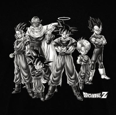 dragon-ball-z-heroes-clothes-and-games-camisetas y juegos en terrassa