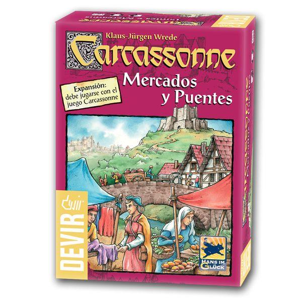 Carcassonne-Mercados-y-Puentes-Caja-CLOTHES AND GAMES-TIENDA DE JUEGOS TERRASSA-BARCELONA