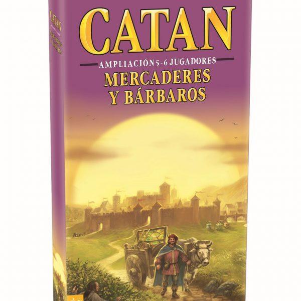 MERCADERES Y BARBAROS DE CATAN EXPANSION 5- 6-CLOTHES AND GAMES-TIENDA DE JUEGOS TERRASSA-BARCELONA