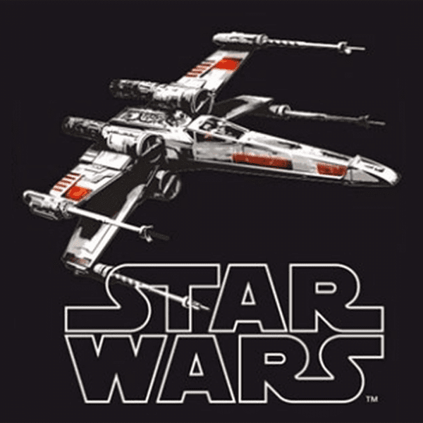 x-wing-star wars-clothes and games-terrassa