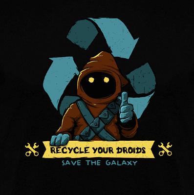 Camiseta Save the galaxy (Por Le Duc) en terrassa clothes and games