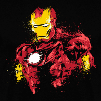 Camiseta The Power of Iron (Por DrMonekers) clothes and games