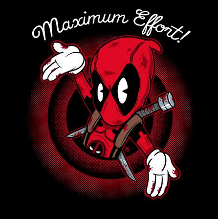 Camiseta Maximum Effort! (Por Fernando Sala Soler)