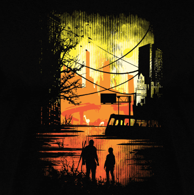 Camiseta Sole Survivors (Por Daletheskater) disponible en clothes and games terrassa