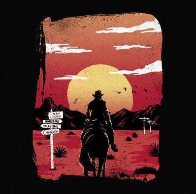 Camiseta Way to nowhere (Por Paula García) ) disponible en clothes and games terrassa