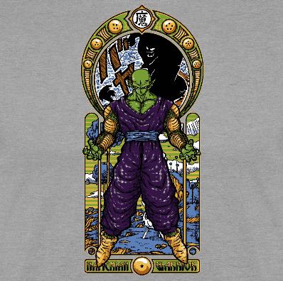 Camiseta manga larga Namekian Warrior (Por CoD Designs) disponible en clothes and games terrassa