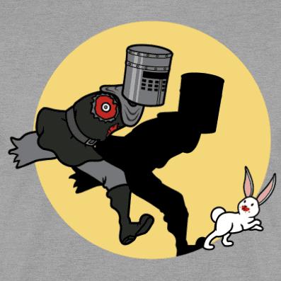 Camiseta The Adventures of The Black Knight! (Por Raffiti) disponible en clothes and games terrassa