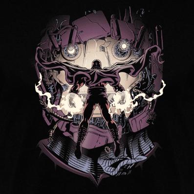 Camiseta Enfrentamiento Magnético (Por Saqman) en clothes and games terrassa