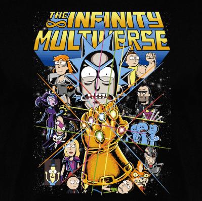 Camiseta The Infinity Multiverse (Por Andriu)