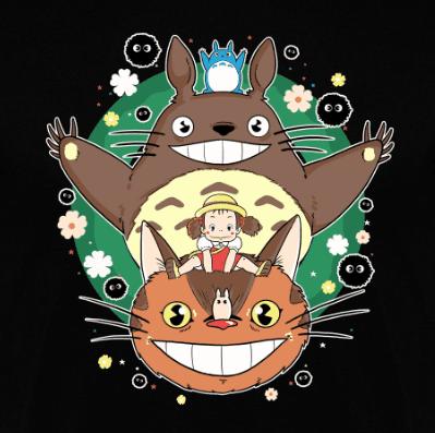 Sudadera Totoro's Christmas (Por Douglasstencil) disponible en clothes and games terrassa