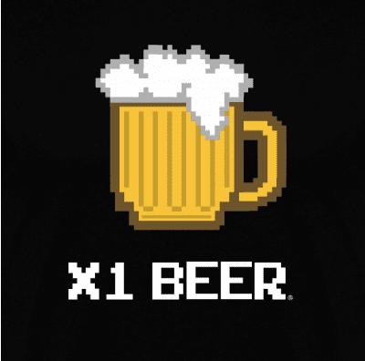 Sudadera con Capucha x1 Beer (Por Fernando Sala Soler) en clothes and games tienda friki en terrassa
