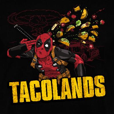 Sudadera con Capucha Tacolands (Por CoD Designs) en clothes and games tienda friki en terrassa