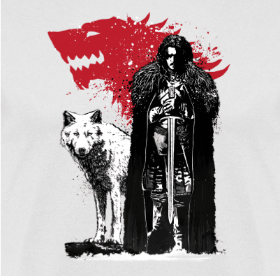 Sudadera con Capucha 1THE-KING-AND-THE-WHITE-WOLF