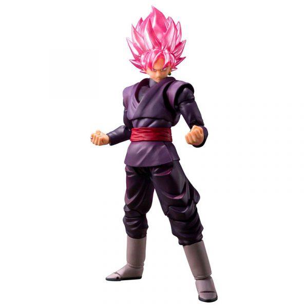 Figura Goku Black Super Saiyan Rose Dragon Ball Super 14cm