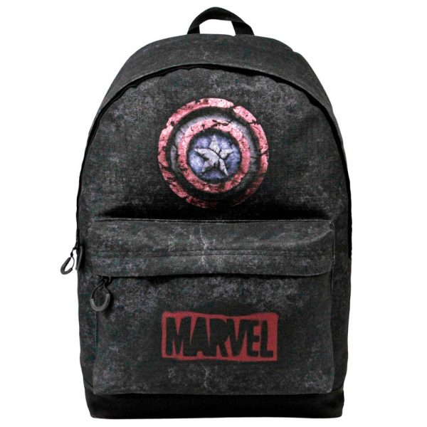 Mochila Capitan America Marvel adaptable 43cm Tamaño- 43x32x20cm