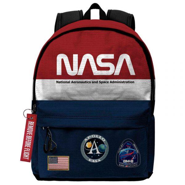 Mochila Mission NASA 45cm Size- 45x37x15cm.