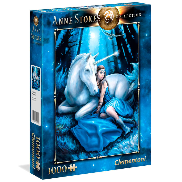 Puzzle Blue Moon Anne Stokes 1000pzs