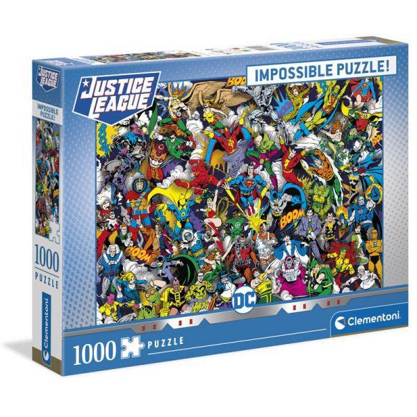 Puzzle Imposible DC Comics 1000pzs