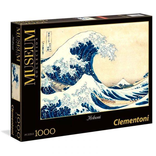 Puzzle La Gran Ola Hokusai Museum Collection 1000pzs