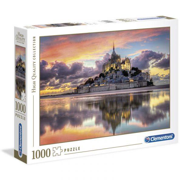 Puzzle Le Magnifique Mont Saint-Michel 1000pzs
