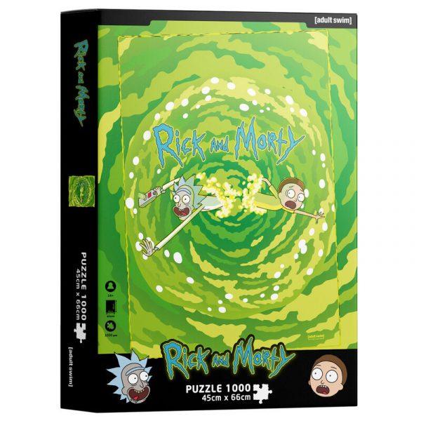 Puzzle Portal Rick and Morty 1000pzs