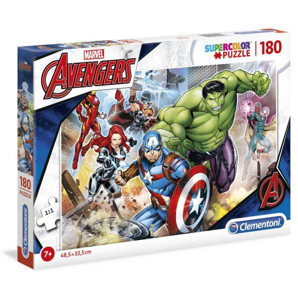 Puzzle Vengadores Avengers Marvel 180pzs